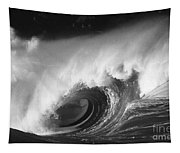 Big Breaking Wave - Bw Tapestry