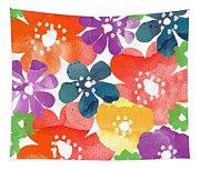 Big Bright Flowers Tapestry