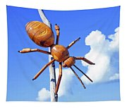 Big Bug Sculpture 1 Tapestry