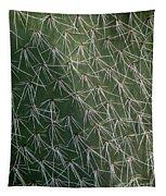 Big Cactus Pins. Close-up Tapestry