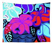 Big Colorful Lillies 2 Tapestry