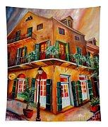 Big Easy Sunset Tapestry