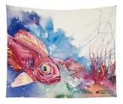 Big Eye Squirrelfish Tapestry