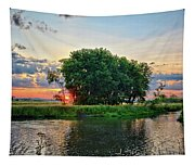 Big Marsh Sun Tapestry