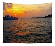 Big Pass Sunset Sarasota Florida Tapestry