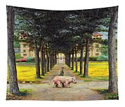 Big Pig - Pistoia -tuscany Tapestry