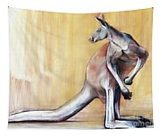 Big Red  Kangaroo Tapestry