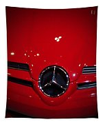 Big Red Smile - Mercedes-benz S L R Mclaren Tapestry