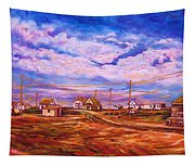 Big Sky Red Earth Tapestry