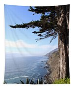 Big Sur Coastline Tapestry