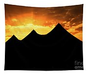 Big Top Sunset Tapestry