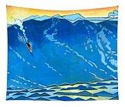Big Wave Tapestry