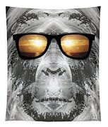 Bigfoot In Shades Tapestry