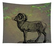 Bighorn Sheep  Tapestry