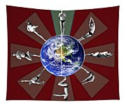 Bikram Yoga Tapestry