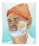 Bill Murray Steve Zissou Life Aquatic Tapestry