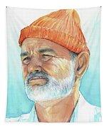 Bill Murray Steve Zissou Life Aquatic Tapestry