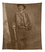 Billy The Kid Tapestry