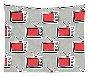 Binge Watching- Art By Linda Woods Tapestry