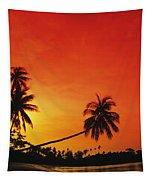 Bintan Island Sunset Tapestry