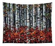 Birch Trees Tapestry