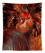 Bird Woman Tapestry