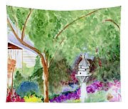 Birdhouse Tapestry