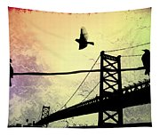 Birds Eye View Tapestry