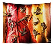 Birds Of A Decor Feather Tapestry