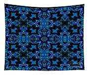 Birds Of Paradise Abstract Tapestry