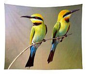 Birds On A Branch Tapestry