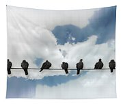 Birds On A Wire Tapestry