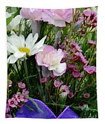 Birthday Flowers Tapestry
