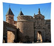 Bisagra Gate Toledo Spain Tapestry