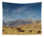 Bison The National Mammal Tapestry
