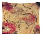 Bisons From The Caves At Altamira Tapestry