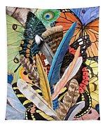 Bits Of Flight Tapestry