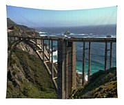 Bixby Creek Bridge 5 Tapestry