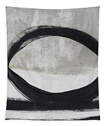 Black And White Abstract 2- Art By Linda Woods Tapestry