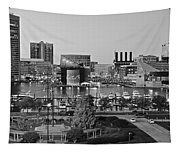 Black And White Baltimore Tapestry