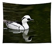 Black And White Duck Tapestry