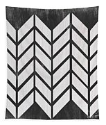 Black And White Quilt Tapestry