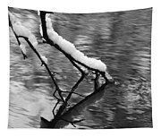 Black And White Winter Mood Tapestry