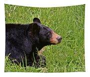 Black Bear Tapestry