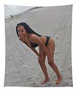 Black Bikinis 25 Tapestry