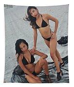 Black Bikinis 5 Tapestry
