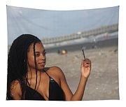 Black Bikinis 56 Tapestry