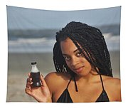 Black Bikinis 59 Tapestry