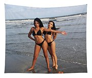 Black Bikinis 65 Tapestry