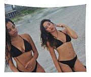 Black Bikinis Tapestry